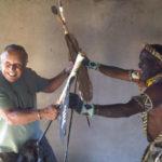 zulu medicine man at the Thula Thula eco-safari