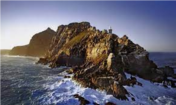 Cape of Good Hope dramatic rocks not ours