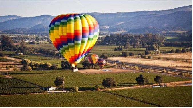 HOT AIR BALLOON PROMO not ours